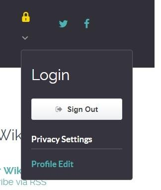 Updating your Privacy settings